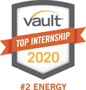 Top Internship Award for Evergy from Vault