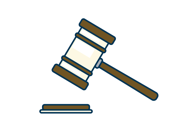 Gavel graphic