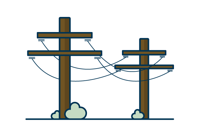 Powerlines graphic