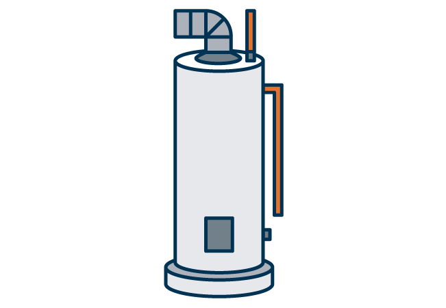 Water heater graphic