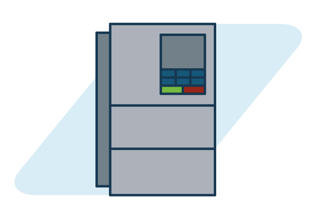 Variable Speed Drives graphic