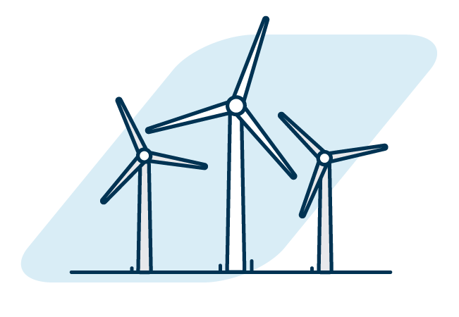 Windmills graphic